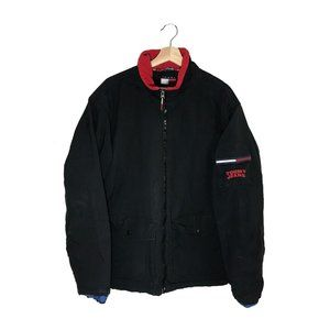 Tommy Hilfiger Jeans spellout heavy jacket black